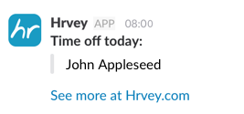 Daily Slack notification